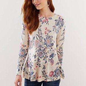 Lightweight Floral Sweater